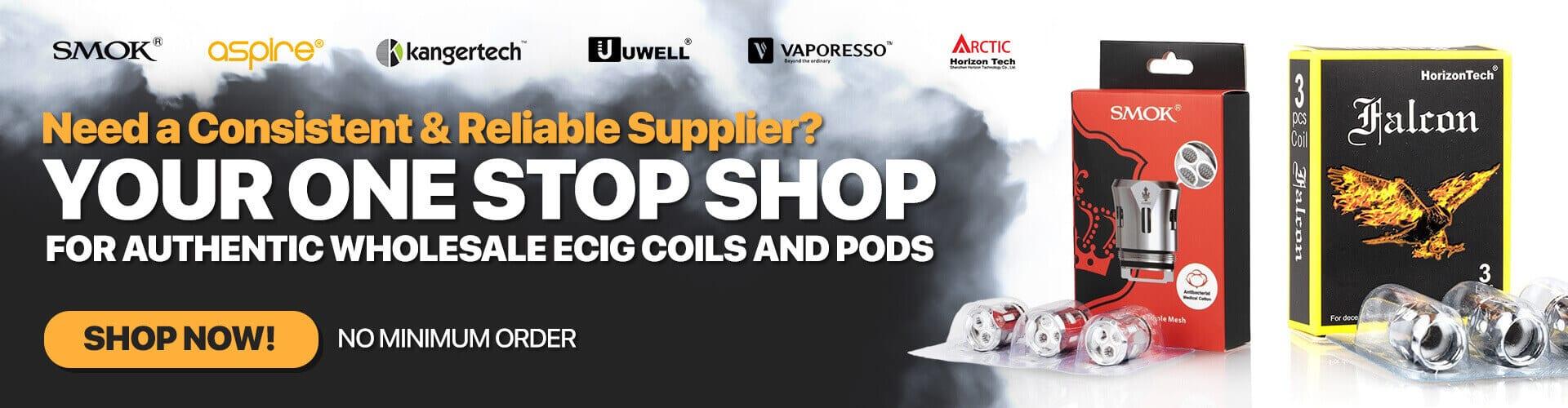 Wholesale Vapor Products, Electronic Cigarette Distributor