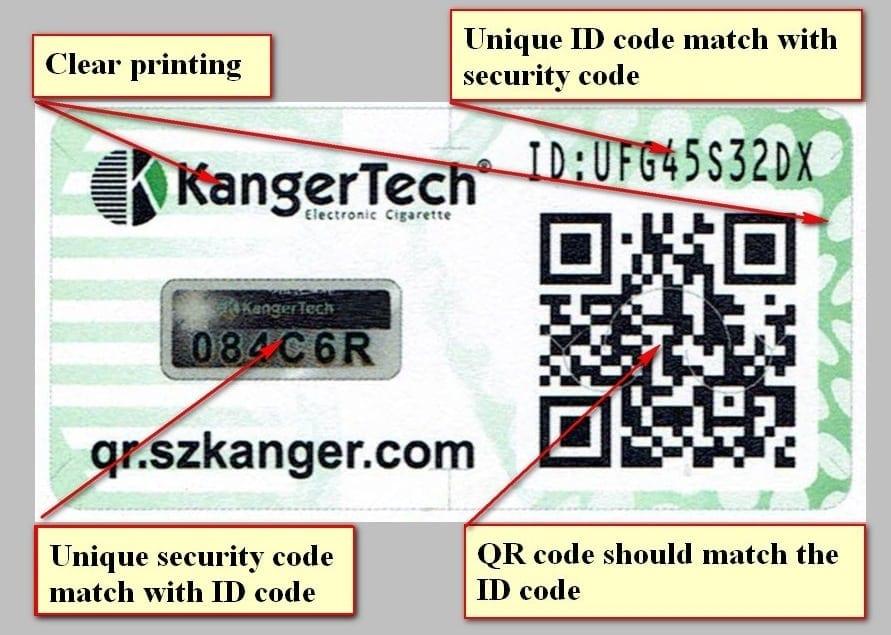 Fake Kanger Coils