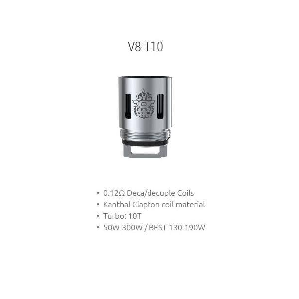 SMOK TFV8 Cloud Beast T6 Replacement Coils