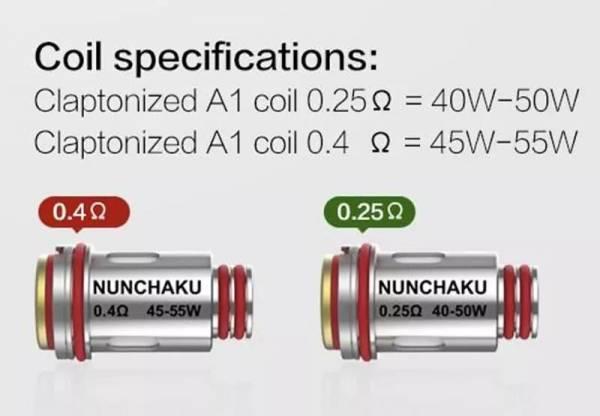 UWell Nunchaku Replacement Coils (4)